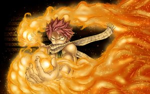 Rating: Safe Score: 39 Tags: all_male fairy_tail fire male mashima_hiro natsu_dragneel pink_hair scarf short_hair User: RyuZU