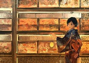 Rating: Safe Score: 104 Tags: animal fish gemi japanese_clothes kimono original User: IchimaruSakai