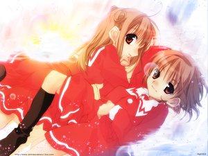 Rating: Safe Score: 9 Tags: dnangel harada_riku harada_risa sugisaki_yukiru twins User: Oyashiro-sama