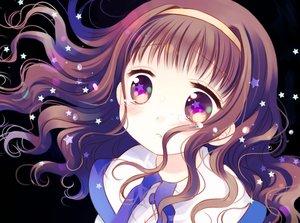 Rating: Safe Score: 24 Tags: blush brown_eyes brown_hair close headband higanbana_no_saku_yoru_ni kusunoki_midori loli long_hair sakurazawa_izumi tears User: RyuZU