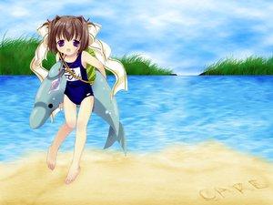 Rating: Safe Score: 9 Tags: barefoot bottle_fairy jpeg_artifacts loli magi-cu school_swimsuit swimsuit tama-chan tokumi_yuiko User: Oyashiro-sama