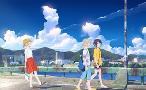 Rating: Safe Score: 19 Tags: building city clouds original scenic shorts skirt sky yukimachi_(yuki_no_city) User: FormX