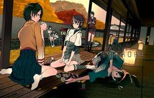 Rating: Safe Score: 107 Tags: admiral_(kancolle) anthropomorphism autumn brown_hair drink food green_hair group hiryuu_(kancolle) hyuuga_(kancolle) ikazuchi_(kancolle) inazuma_(kancolle) ise_(kancolle) kantai_collection kneehighs leaves mogami_(kancolle) pantyhose short_hair skirt socks souryuu_(kancolle) tatsuta_(kancolle) tenryuu_(kancolle) twintails ul283 User: FormX