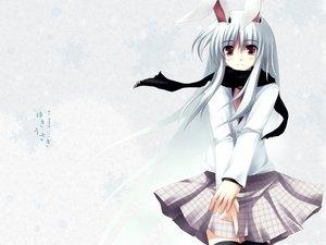Rating: Safe Score: 32 Tags: animal_ears bunny_ears bunnygirl reisen_udongein_inaba scarf touhou winter User: Oyashiro-sama