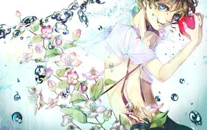 Rating: Safe Score: 35 Tags: akiakane all_male kagamine_len male vocaloid User: HawthorneKitty