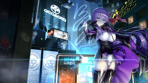 Rating: Safe Score: 43 Tags: aliasing bb_(fate) blush boots breasts building city erect_nipples fate/extra_ccc fate/grand_order fate_(series) gloves long_hair magic night purple_eyes purple_hair ribbons skirt skirt_lift thighhighs uo_denim wand User: otaku_emmy