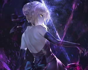 Rating: Safe Score: 102 Tags: artoria_pendragon_(all) avamone cropped fate_(series) fate/stay_night saber saber_alter User: mattiasc02