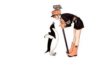 Rating: Safe Score: 44 Tags: animal penguin range_murata white User: rafaelkuffner