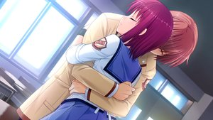 Rating: Safe Score: 33 Tags: angel_beats! game_cg iwasawa_masami key male na-ga otonashi_yuzuru User: Tensa