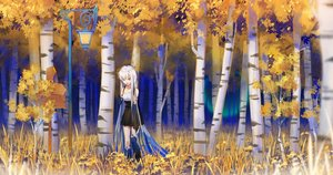 Rating: Safe Score: 21 Tags: autumn dress forest ji_dao_ji original tree User: Fepple