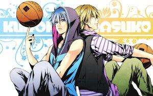Rating: Safe Score: 61 Tags: all_male ball basketball kise_ryouta kuroko_no_basket kuroko_tetsuya male sport tagme User: cloudnj