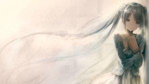Rating: Safe Score: 119 Tags: aqua_eyes aqua_hair book garuku hatsune_miku jpeg_artifacts long_hair skirt tears twintails vocaloid User: Flandre93
