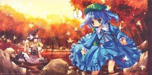 Rating: Safe Score: 16 Tags: 2girls capura_lin kawashiro_nitori kirisame_marisa tagme touhou witch User: 秀悟