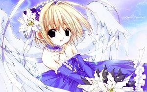 Rating: Safe Score: 12 Tags: nanase_aoi tagme wings User: Oyashiro-sama