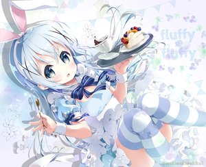 Rating: Safe Score: 33 Tags: cake dress food gochuumon_wa_usagi_desu_ka? kafuu_chino loli lolita_fashion neki_(wakiko) thighhighs watermark User: BattlequeenYume