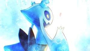 Rating: Safe Score: 15 Tags: aliasing blue close froslass higa-tsubasa petals pokemon polychromatic User: otaku_emmy