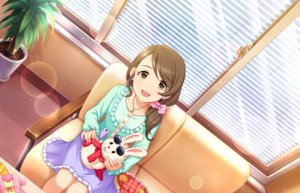 Rating: Safe Score: 12 Tags: annin_doufu brown_eyes brown_hair bunny doll idolmaster idolmaster_cinderella_girls idolmaster_cinderella_girls_starlight_stage long_hair mochida_arisa necklace ponytail puppet skirt sunglasses User: luckyluna