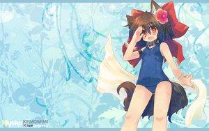Rating: Safe Score: 19 Tags: animal_ears collar doggirl i.s.w. ryo_hiiragi school_swimsuit swimsuit tagme tail User: 秀悟