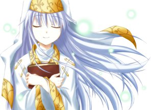 Rating: Safe Score: 13 Tags: book gray_hair hat index long_hair nun to_aru_majutsu_no_index white User: HawthorneKitty