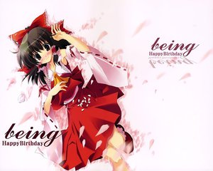 Rating: Safe Score: 18 Tags: hakurei_reimu japanese_clothes miko touhou User: Oyashiro-sama