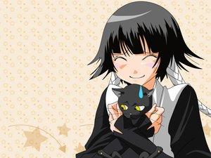 Rating: Safe Score: 47 Tags: animal bleach cat shihouin_yoruichi soifon User: Oyashiro-sama