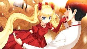 Rating: Safe Score: 44 Tags: blonde_hair dress furumiya_elis game_cg nanatsu_no_fushigi_no_owarutoki twintails ueda_ryou User: Maboroshi