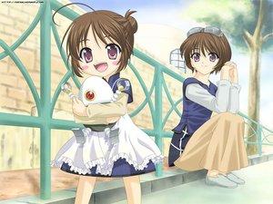 Rating: Safe Score: 13 Tags: 2girls loli minakami_rinrin sister_princess_repure User: Oyashiro-sama