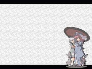 Rating: Safe Score: 13 Tags: konpaku_youmu myon saigyouji_yuyuko touhou umbrella User: Oyashiro-sama