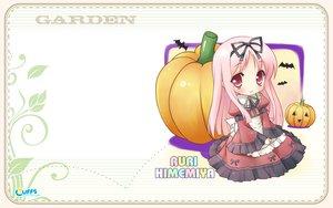 Rating: Safe Score: 15 Tags: cuffs_(studio) garden_(galge) halloween himemiya_ruri pink_eyes pink_hair User: 秀悟