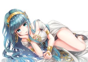 Rating: Safe Score: 64 Tags: blue_hair cleopatra_(fate/grand_order) fate/grand_order fate_(series) green_eyes hane_yuki long_hair User: BattlequeenYume