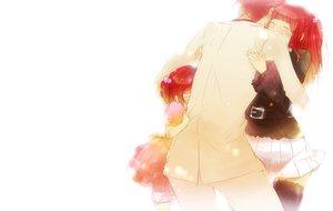 Rating: Safe Score: 36 Tags: hug loli male red_hair umineko_no_naku_koro_ni ushiromiya_ange ushiromiya_battler white User: Tensa