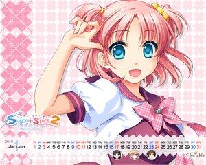 Rating: Safe Score: 21 Tags: amamoto_fuuka close ginta pink_hair seifuku skirt sugar+spice_2 twintails User: Yunocchi