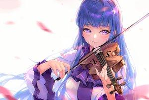 Rating: Safe Score: 47 Tags: blue_hair blush close instrument long_hair marija_(muse_dash) miyama_tsubaki_me muse_dash purple_eyes violin User: BattlequeenYume