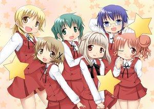 Rating: Safe Score: 9 Tags: hidamari_sketch hiro miyako nazuna nori sae yuno User: HawthorneKitty