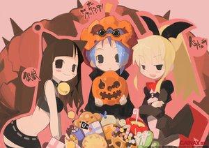 Rating: Safe Score: 14 Tags: animal_ears gainax halloween hiruma_andon mahoromatic tagme User: Oyashiro-sama