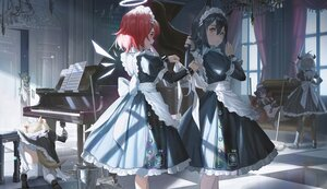Rating: Safe Score: 78 Tags: animal_ears arknights codec007 croissant_(arknights) exusiai_(arknights) instrument lappland_(arknights) maid mostima_(arknights) panties piano skirt_lift sora_(arknights) striped_panties tail texas_(arknights) underwear User: BattlequeenYume