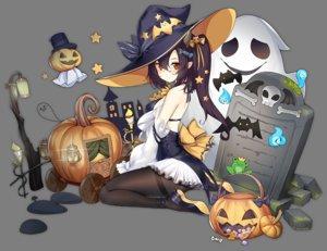Rating: Safe Score: 86 Tags: anthropomorphism azur_lane black_hair bow candy dress food halloween hat isuzu_(azur_lane) long_hair ootsuki_momiji orange_eyes pantyhose pointed_ears ponytail pumpkin transparent witch_hat User: otaku_emmy