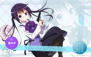 Rating: Safe Score: 65 Tags: gochuumon_wa_usagi_desu_ka? gun jpeg_artifacts long_hair purple_eyes purple_hair tagme tedeza_rize weapon zoom_layer User: The_Knight_Girl