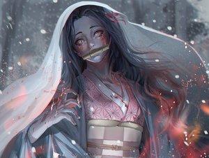 Rating: Safe Score: 35 Tags: blood demon gag japanese_clothes kamado_nezuko kimetsu_no_yaiba kimono windami User: FormX