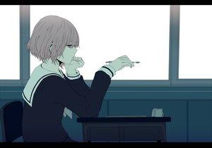 Rating: Safe Score: 48 Tags: chizuru_(ambient) polychromatic seifuku short_hair vocaloid User: humanpinka