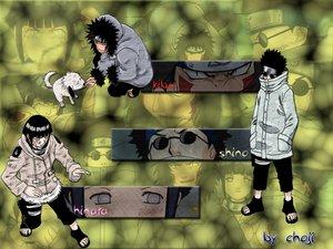 Rating: Safe Score: 4 Tags: aburame_shino animal black_hair dog gray_eyes headband hyuuga_hinata inuzuka_kiba male naruto sunglasses User: Oyashiro-sama