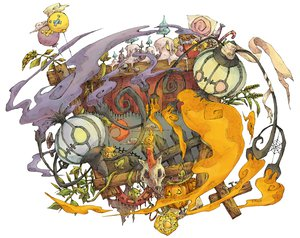 Rating: Safe Score: 79 Tags: chandelure drifloon halloween joltik kuuneru litwick pokemon pumpkin User: PAIIS