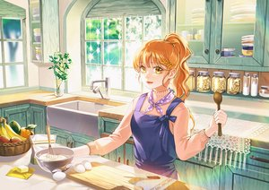 Rating: Safe Score: 30 Tags: apple apron food fruit jeya_(leej3ya) long_hair orange_eyes orange_(fruit) orange_hair original ponytail scenic waifu2x User: otaku_emmy