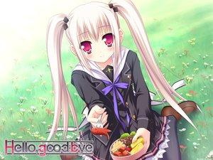 Rating: Safe Score: 61 Tags: food hello_good-bye hiiragi_koharu lump_of_sugar moekibara_fumitake school_uniform twintails User: Wiresetc