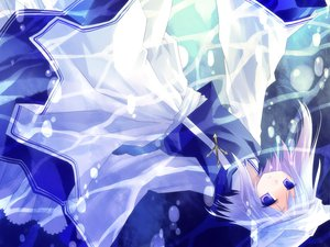 Rating: Safe Score: 29 Tags: asahina blue_eyes blue_hair dress hat letty_whiterock touhou water User: Maho