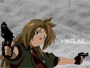 Rating: Safe Score: 12 Tags: blue_eyes brown_hair gun madlax madlax_(character) weapon User: Oyashiro-sama