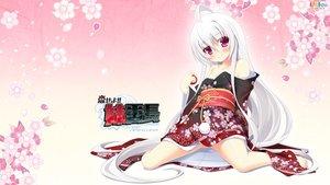 Rating: Safe Score: 94 Tags: japanese_clothes kamitsurugi_ouka kimono koiseyo!!_imouto_banchou latte long_hair nogami_eina purple_eyes white_hair User: Wiresetc