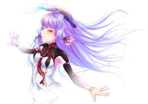 Rating: Safe Score: 27 Tags: anthropomorphism breasts dress gloves kantai_collection kurofude_anastasia long_hair murakumo_(kancolle) orange_eyes purple_hair white User: RyuZU