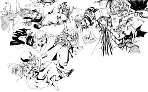 Rating: Safe Score: 14 Tags: alice_margatroid barefoot book chinese_clothes chinese_dress demon doll flandre_scarlet hakurei_reimu hat hong_meiling izayoi_sakuya japanese_clothes kawashiro_nitori kirisame_marisa koakuma long_hair maid miko monochrome patchouli_knowledge remilia_scarlet ribbons shanghai_doll short_hair touhou vampire white wings witch User: Oyashiro-sama