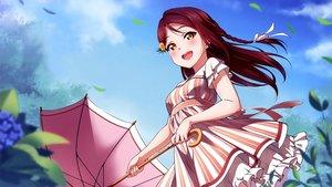 Rating: Safe Score: 27 Tags: cropped dress inou_shin love_live!_school_idol_project love_live!_sunshine!! sakurauchi_riko scan summer_dress User: joesca